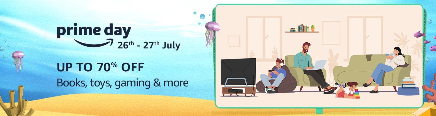 Prime Day - Books, Toys, gaming & more