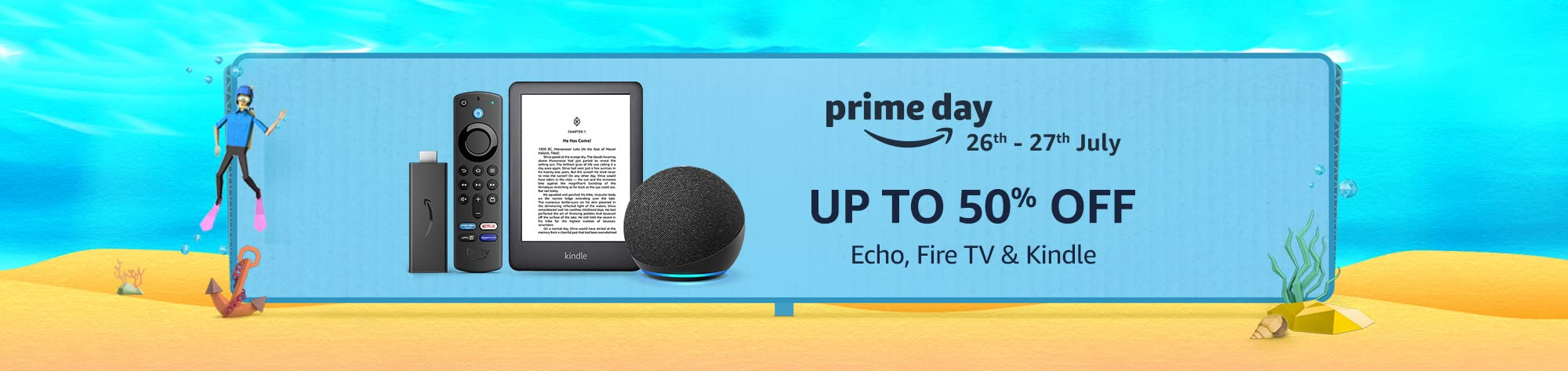 Prime Day - Echo, Fire TV & Kindle